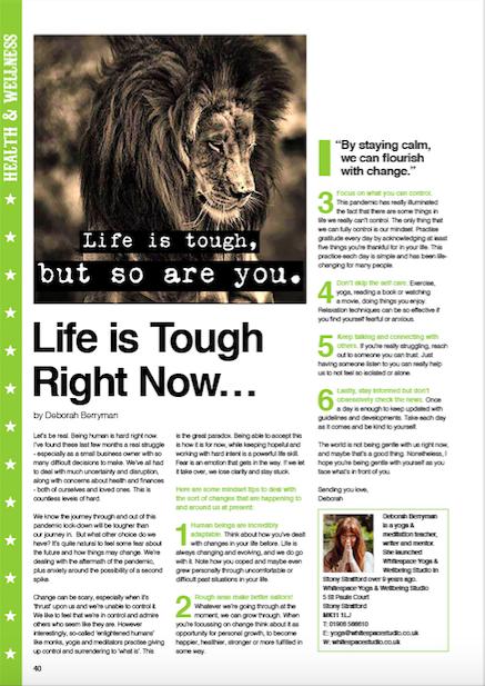 Mindset change - CIRCUS Magazine